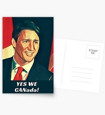 Postales Sí, nosotros, Canadá!