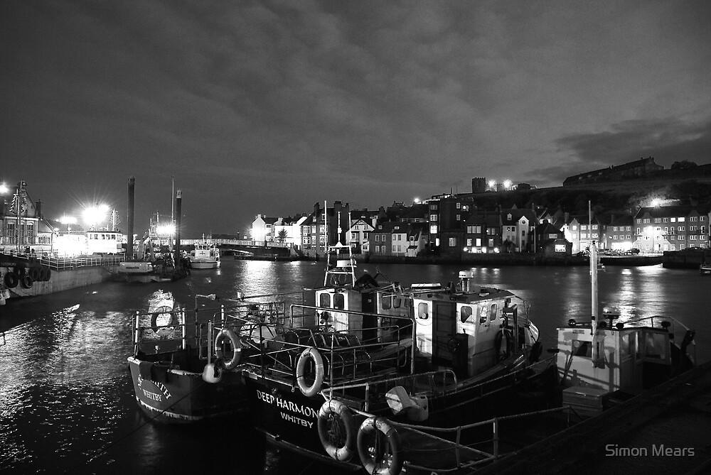 Whitby Harbour by Simon Mears