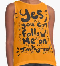 Yes, you can follow me on Instagram Contrast Tank