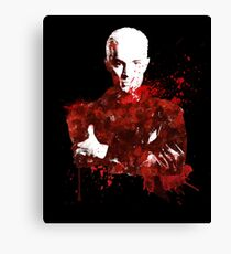 Splatter Spike Canvas Print