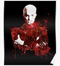 Splatter Spike Poster