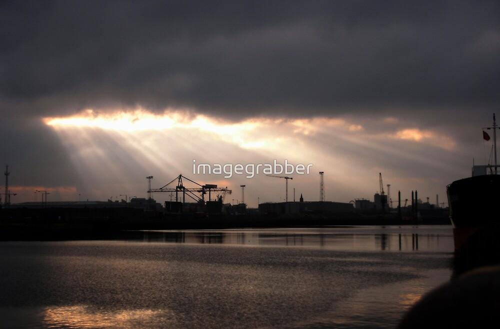 Belfast harbour by imagegrabber