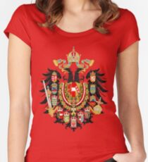 Austria Hungary Austro Hungarian Women's Fitted Scoop T-Shirt