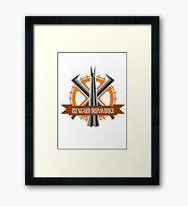 Isengard Ironworks Framed Print