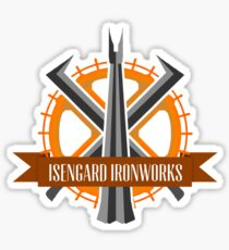 Isengard Ironworks Sticker