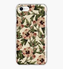 Retro Pink Floral I iPhone Case/Skin