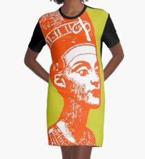 NEFERTITI Graphic T-Shirt Dress