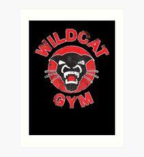 Wildcat Gym Art Print