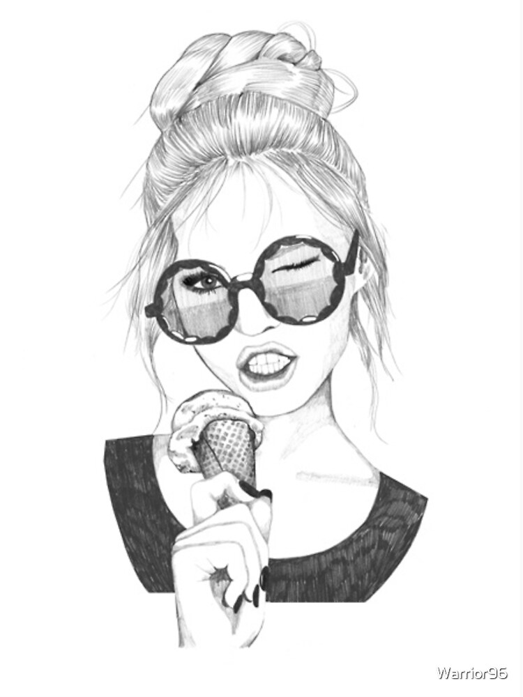 ice cream girl by Warrior96