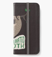 Caffeinated Sloth iPhone Wallet/Case/Skin