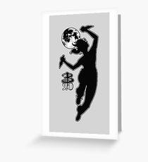Buffy Slays 20 Greeting Card