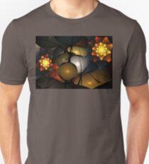 Sienna Orange Petals Unisex T-Shirt