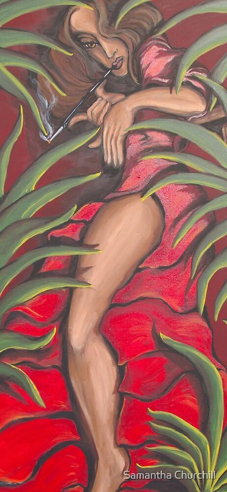 Cubana Woman by Samantha Churchill
