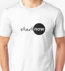 START NOW Unisex T-Shirt