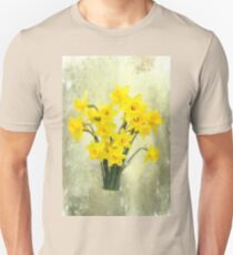 Daffodils in springtime Unisex T-Shirt