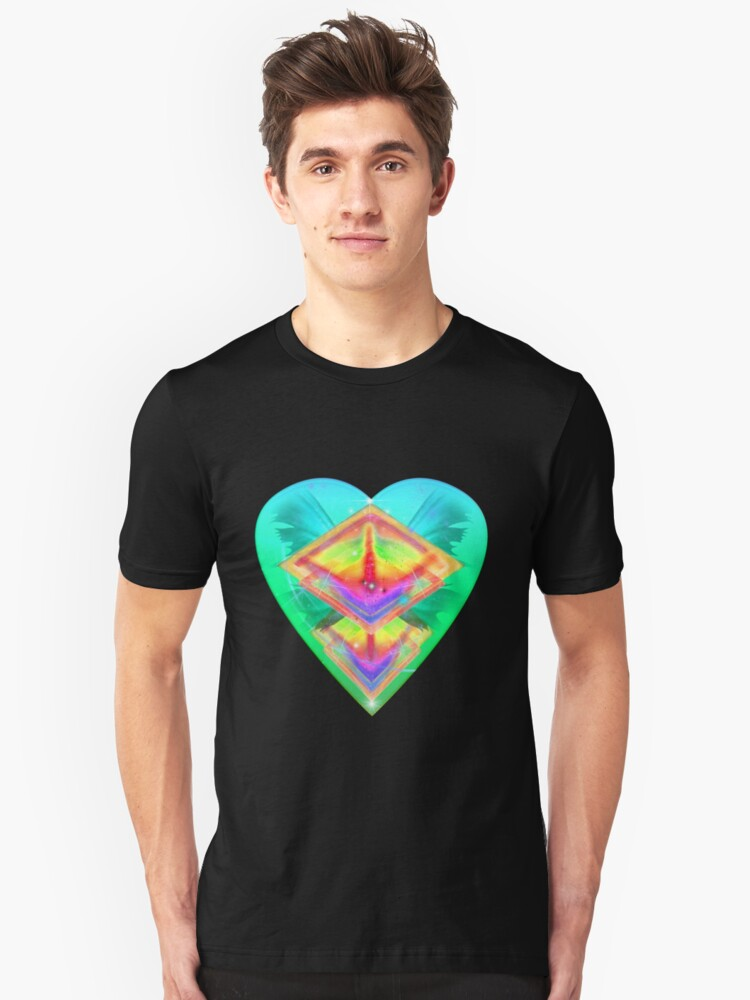 Love and Spirituality 2 Unisex T-Shirt Front