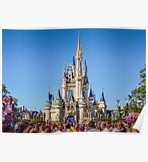 Magic Kingdom Castle Poster