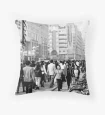 street scene 19 Throw Pillow