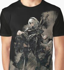 Nier: Automata Black Graphic T-Shirt