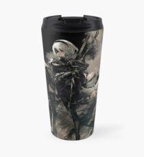 Nier: Automata Black Travel Mug