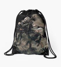 Nier: Automata Black Drawstring Bag