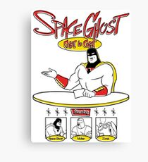 Space Ghost Coast To Coast Canvas Print