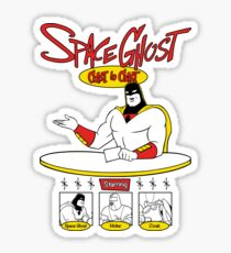 Space Ghost Coast To Coast Sticker