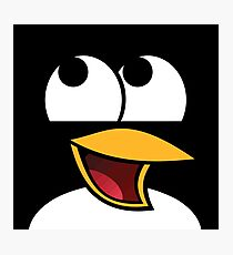 Awesome Linux Penguin Photographic Print