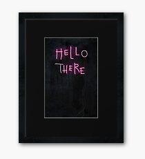 Hell Here Framed Print