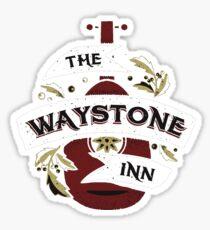 way stone inn Sticker