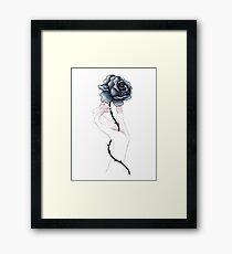 Blood Into Ink Framed Print