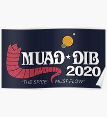 Póster Dune Muad'Dib 2020