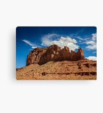 Saddleback at Monument Valley Canvas Print