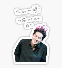 jooheon sun and moon Sticker