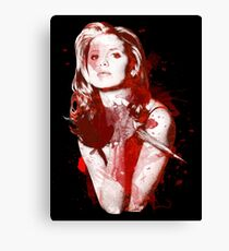 Splatter Buffy Canvas Print