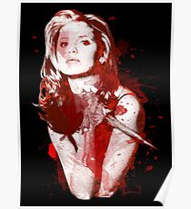 Splatter Buffy Poster
