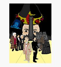 The Five Doctors Photographic Print