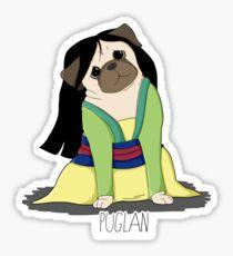 Puglan Sticker