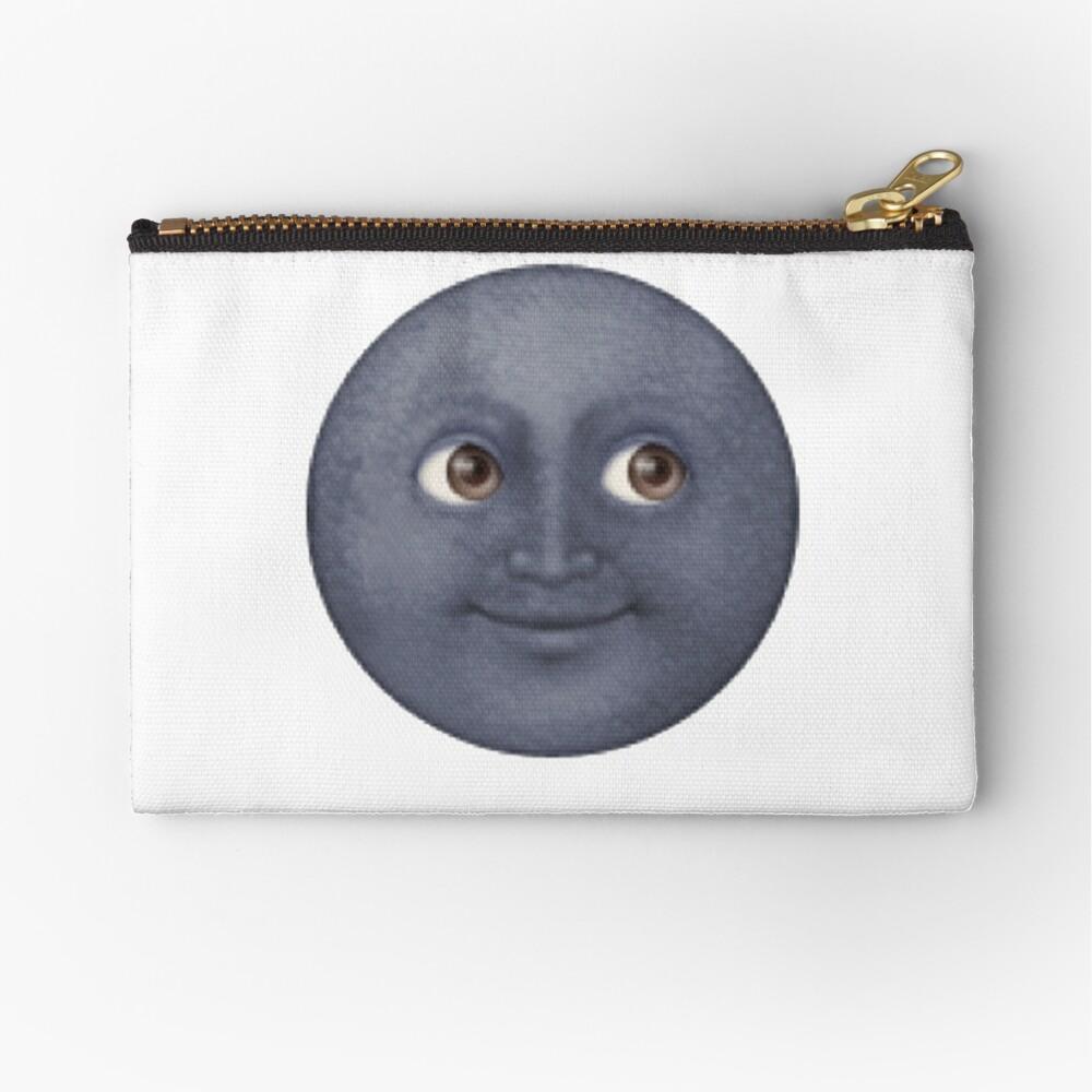 Mond Emoji Täschchen