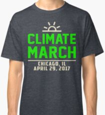 People's Climate March Chicago, IL 2017 Shirt Classic T-Shirt