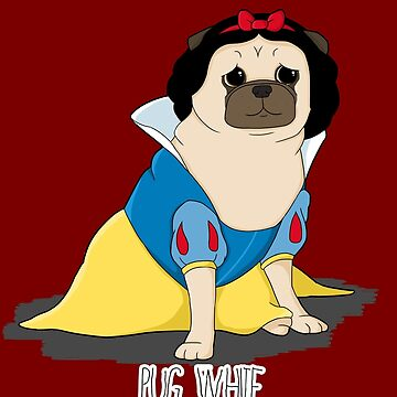 Pug White de jennisney