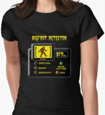Bigfoot Detector Womens Fitted T-Shirt