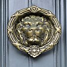 Lionhead Door Knocker by Ethna Gillespie