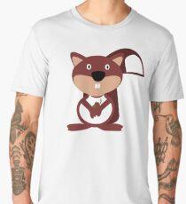 The Friendly Squirrel Men's Premium T-Shirt