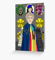 Revelation Of The Daleks Greeting Card