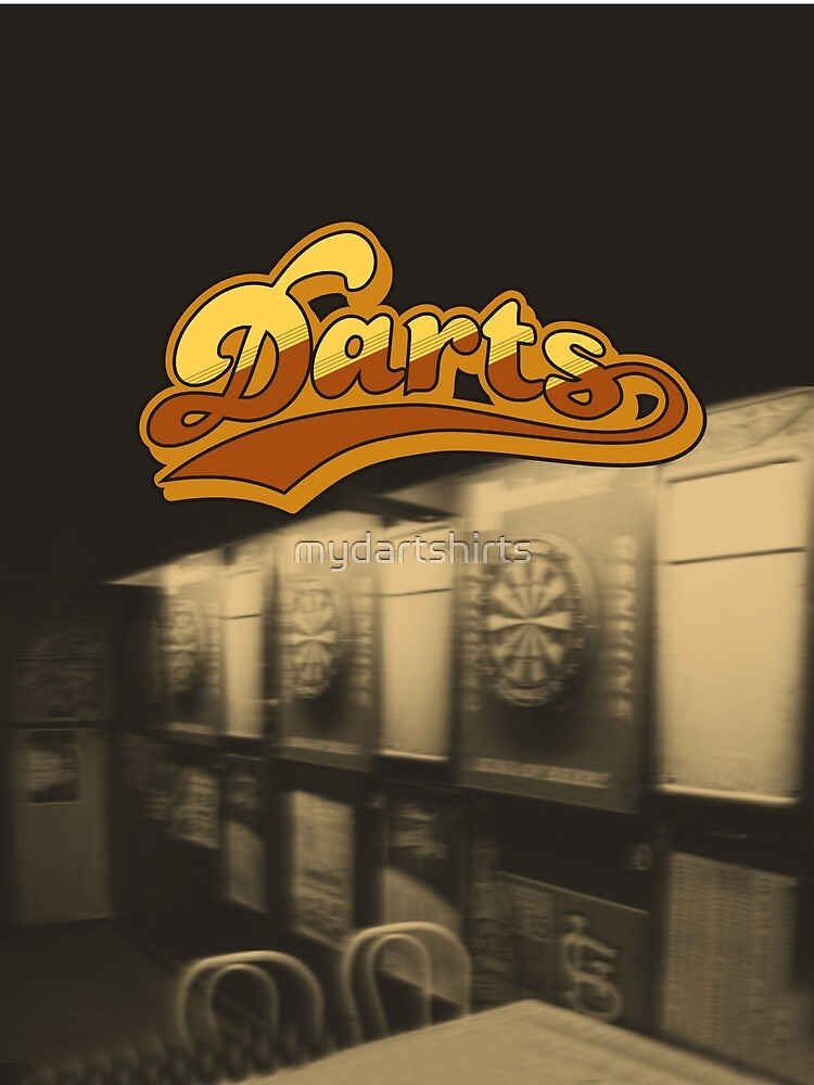 Darts Pub by mydartshirts