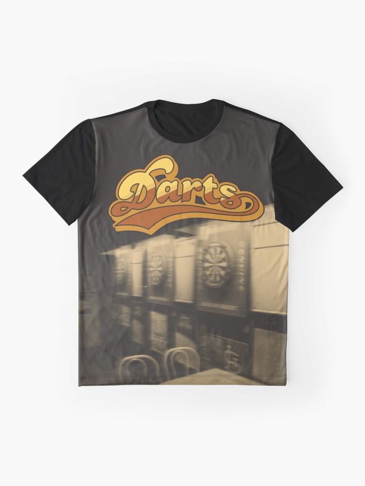 Alternate view of Darts Pub Graphic T-Shirt
