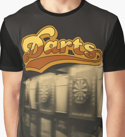Darts Pub Graphic T-Shirt