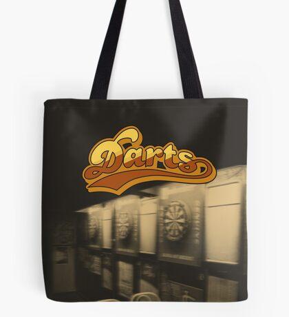 Darts Pub Tote Bag