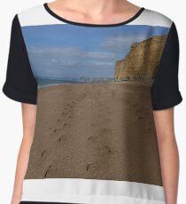 Beach Footpath Chiffon Top